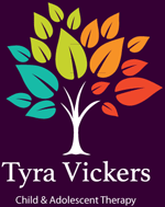 Tyra Vickers PhD Tree Logo
